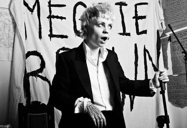 """10/6"" by the dangerously enticing Meggie Brown feels like feral punk rock (London)"
