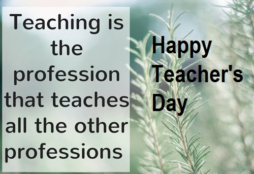Teachers Day Wishes Pics