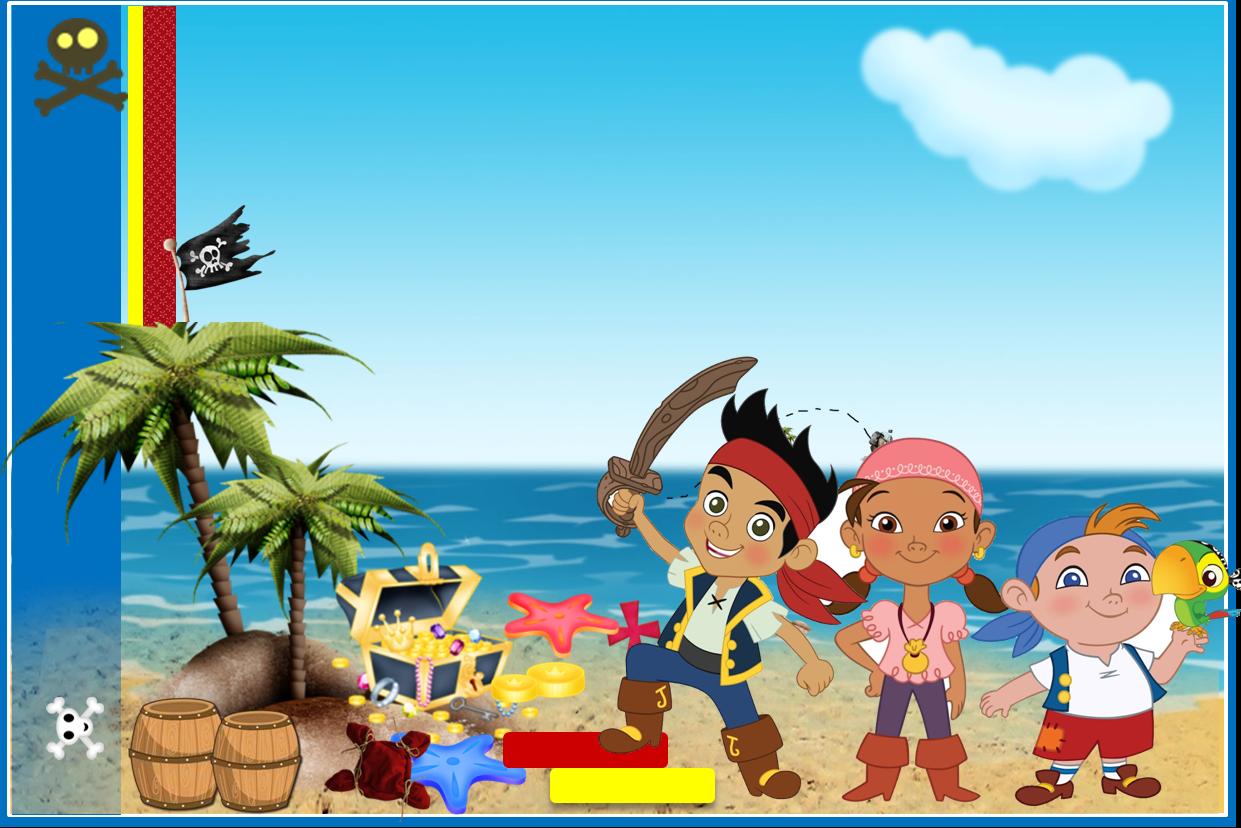 Jake Y Los Piratas Etiquetas Para Imprimir Gratis Ideas