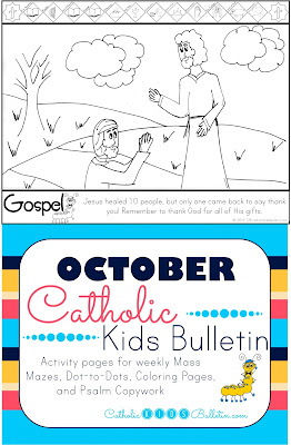 Luke 17:11-19 Jesus Heals the Leper Coloring Page