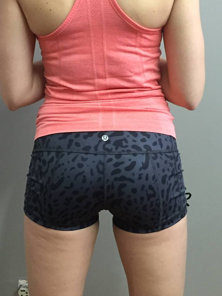 lululemon hot hot short swirl