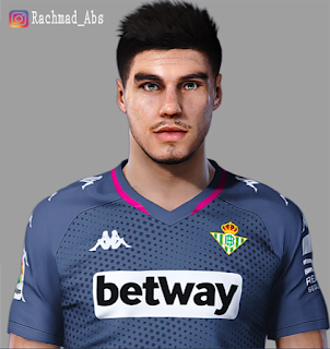 PES 2021 Faces Dani Martin by Rachmad ABs