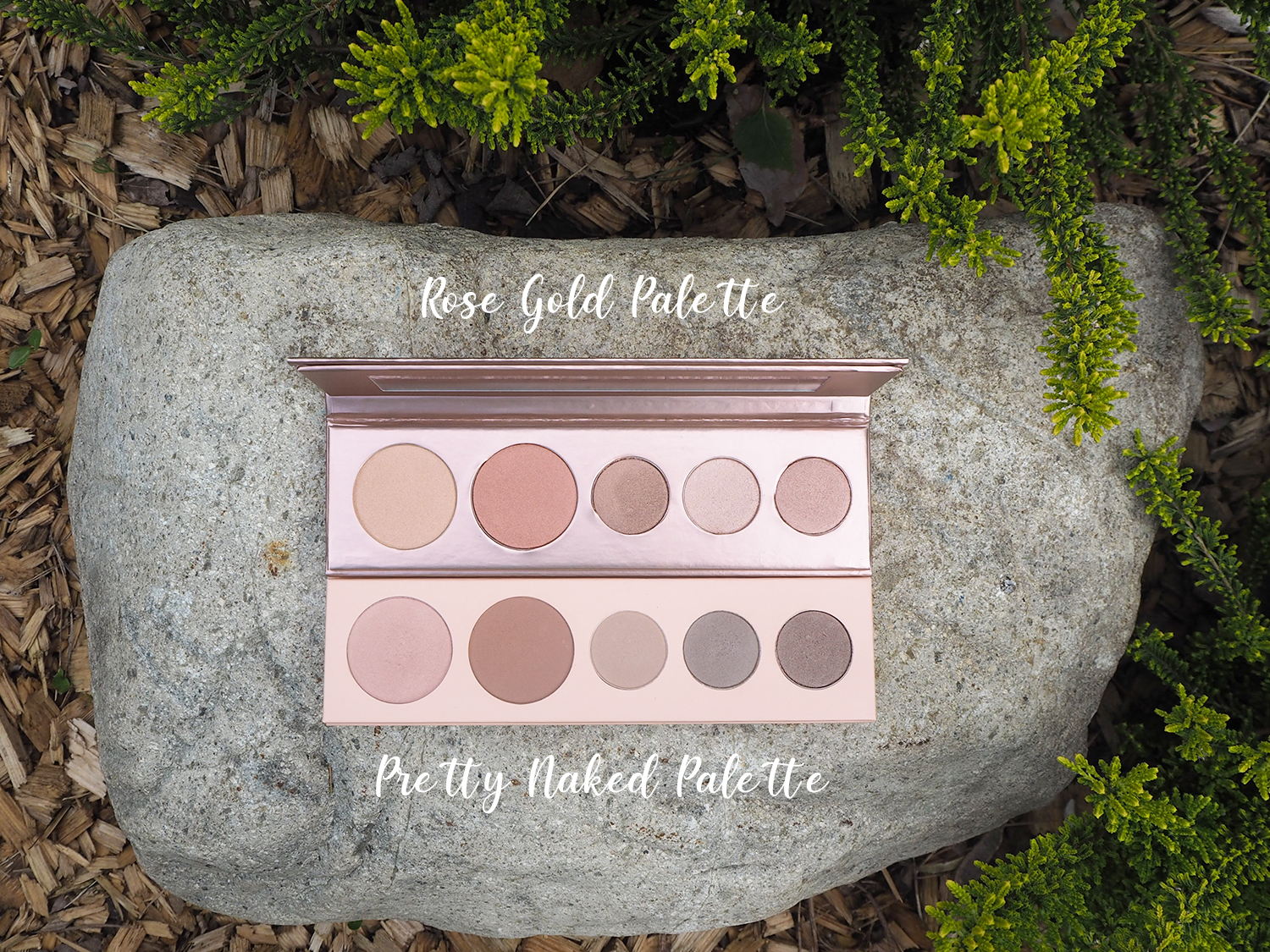 100% Pure Make-Up-Paletten Pretty Naked + Rose Gold