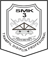 Logo SMK Negeri 3 Metro