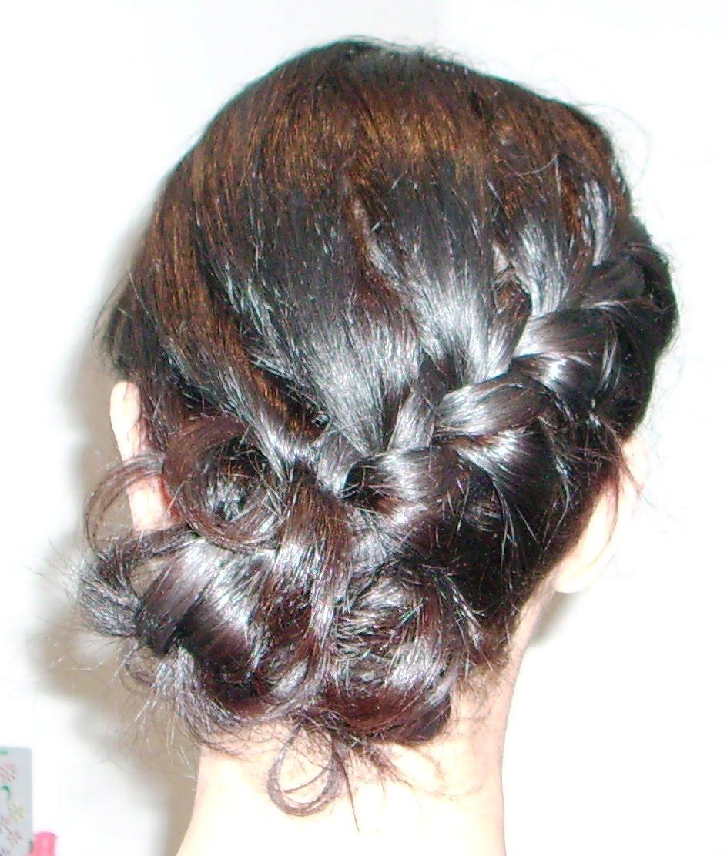 Hairstyles Wallpaper: Beautiful Braided Buns Hairstyles Wallpaper
