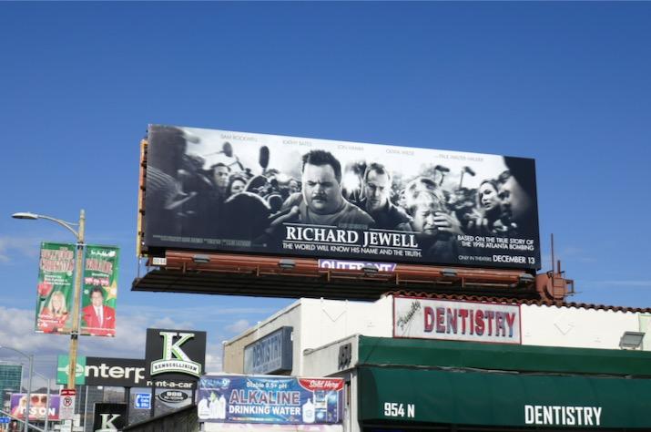Richard Jewell film billboard