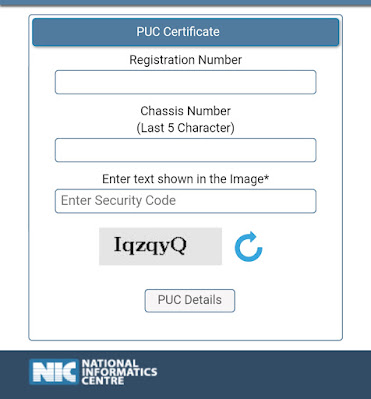 How To Download PUC Certificate Online