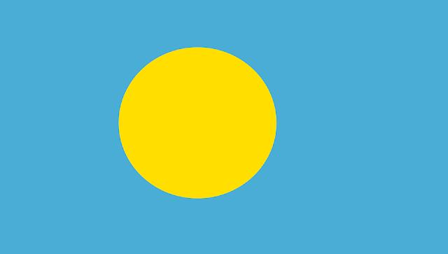 Bandera de Palau