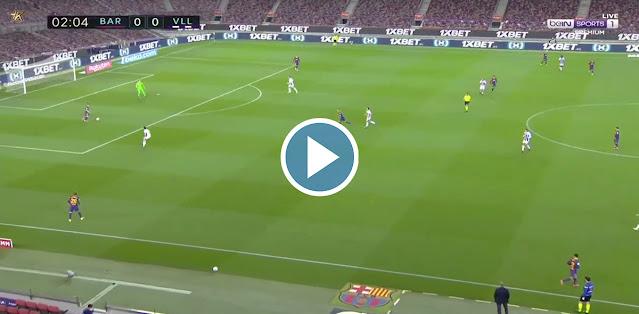 Barcelona vs Real Valladolid Live Score