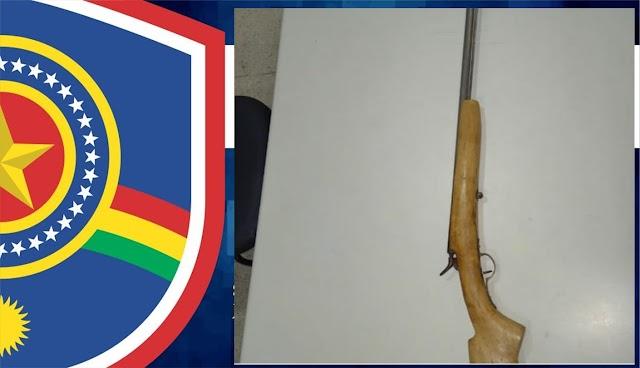 Posse ilegal de arma de fogo/violência familiar aconteceu na zona rural de São Bento do Una
