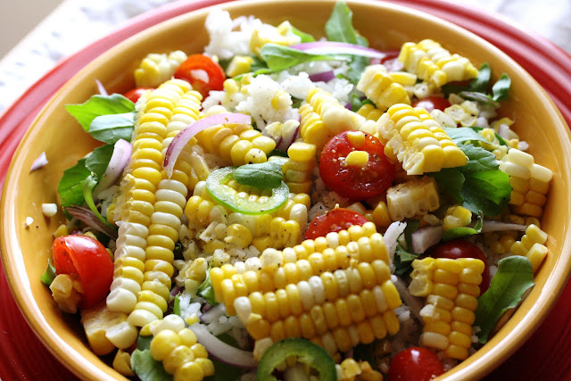 How to Make Fresh Corn and Rice Salad
