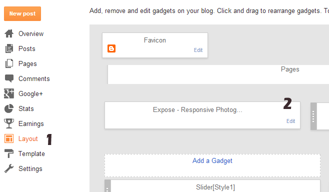 How to Upload logo in Blogger/blogspot template