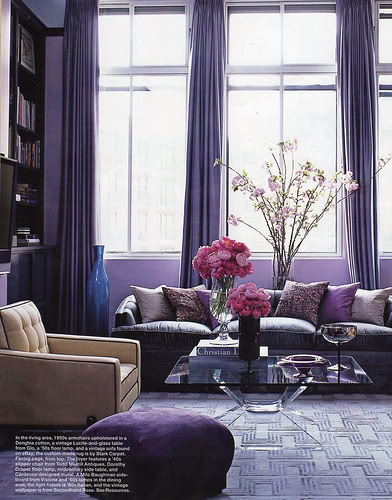 Room Color Designer: CHICAGO INTERIORS: Demystifying Monochromatic