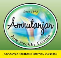 Amrutanjan Healthcare Interview Questions