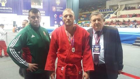 Kozsák György bronzérmes a szambó Európa-bajnokságon