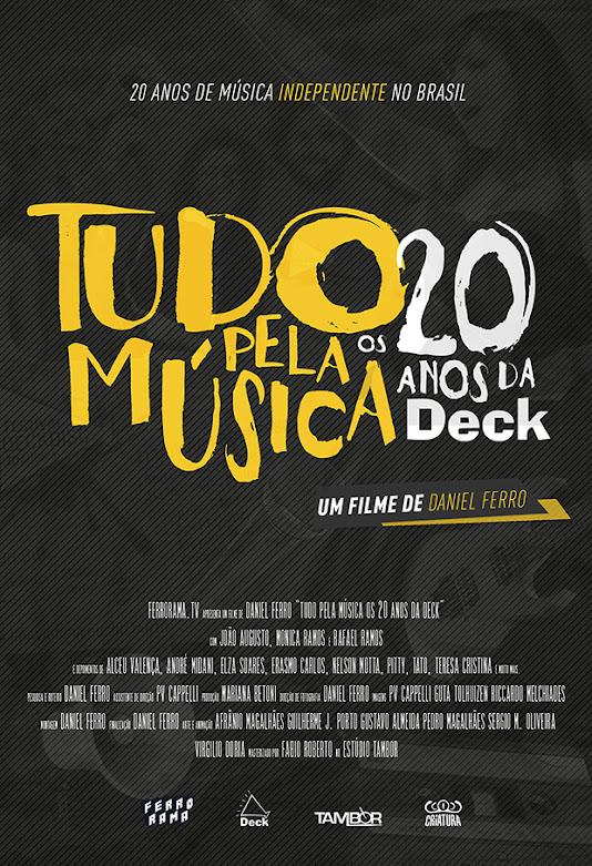 Premiado nos EUA, documentário da gravadora Deck será exibido pelo Canal Bis
