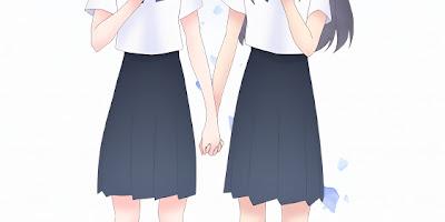 تقرير انمي Blue Reflection Ray (شعاع الانعكاس الأزرق)