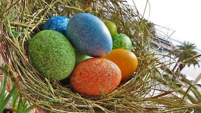 Super lako bojanje jaja sa rižom / Simple Easter Egg Dying Using Rice