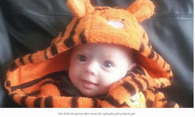 Bebê de 2 meses é sufocado de propósito pelos próprios pais