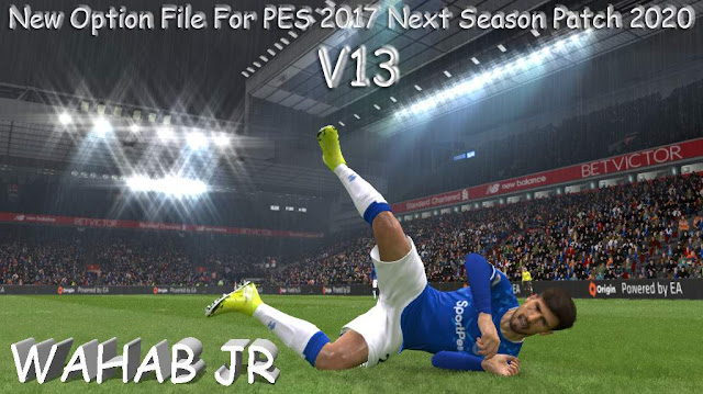 PES 2017 OF Next Season 2020 by WAHAB JR