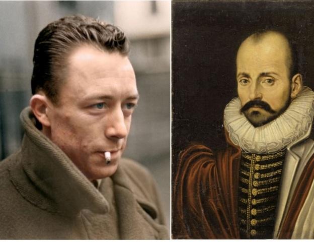 Camus e Montaigne.