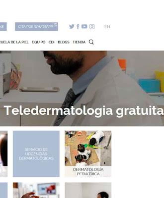 Teledermatología gratuita por el Covid-19