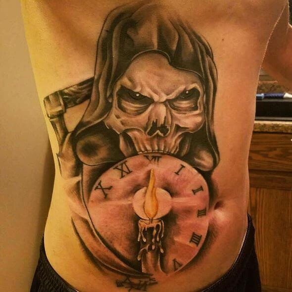 50+ Traditional Grim Reaper Tattoo Designs With Meaning