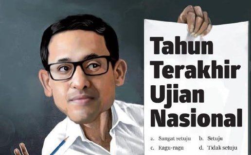 Wacana Mendikbud Nadiem Hapus Ujian Nasional