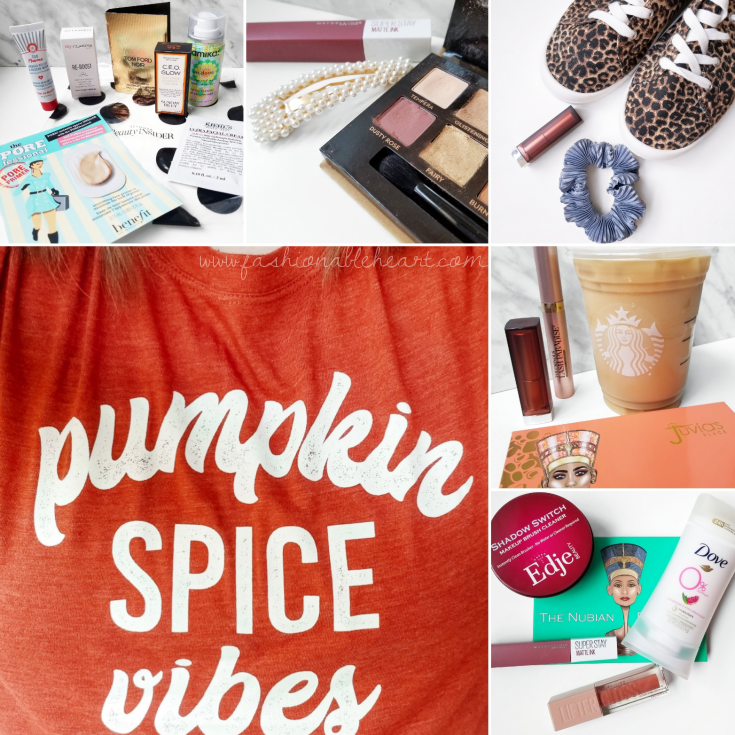 bblogger, bbloggers, bbloggerca, bbloggersca, beauty blog, lifestyle blog, southern blogger, instamonth, instagram roundup, sephora order, samples, torrid, monthly favorites, starbucks canada, juvia's place