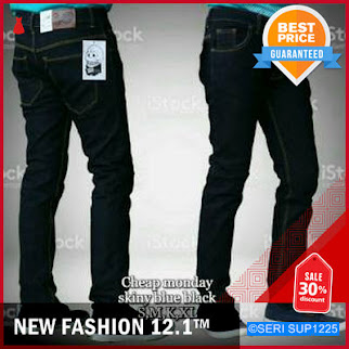 SUP1225C14 Celana Panjang Cheap Monday Warna Blue BMGShop