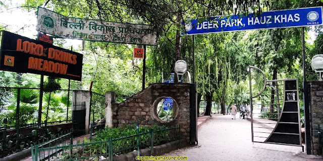 Deer Park at Hauz Khash