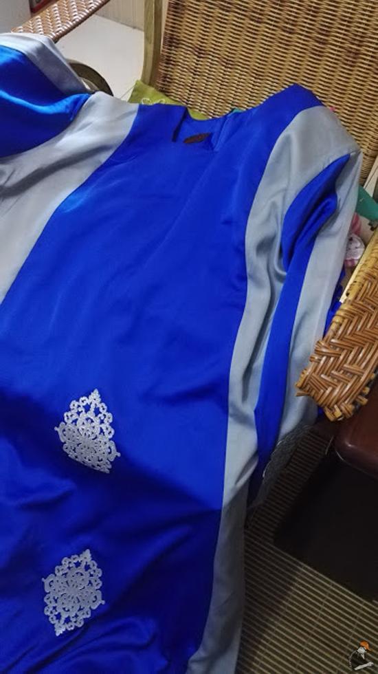 Tudung Kanak-Kanak Baju Raya Pasar Kemboja