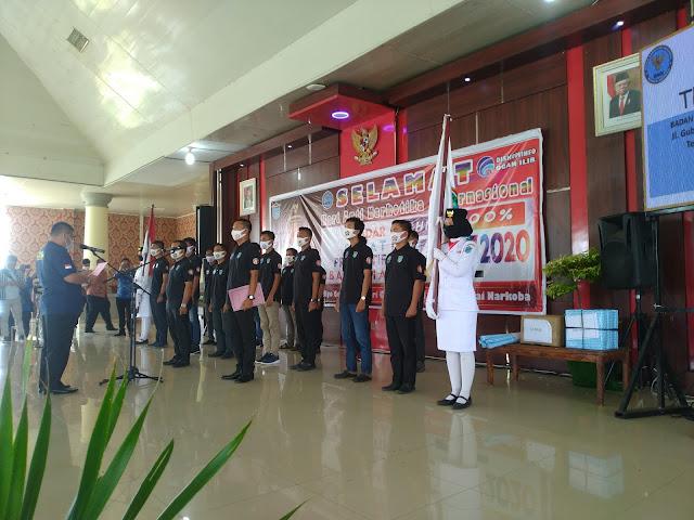 245 Relawan Anti Narkoba Di Kukuhkan Bupati Ogan Ilir