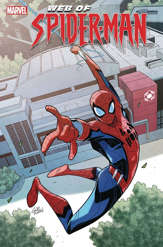 Cover of W.E.B of Spider-Man #1
