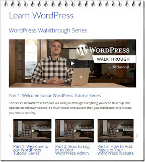 bluehost learn wordpress