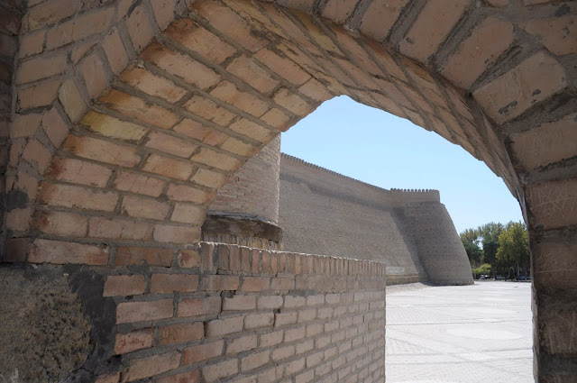 things to see and do in Bukhara Uzbekistan Ark Citadel