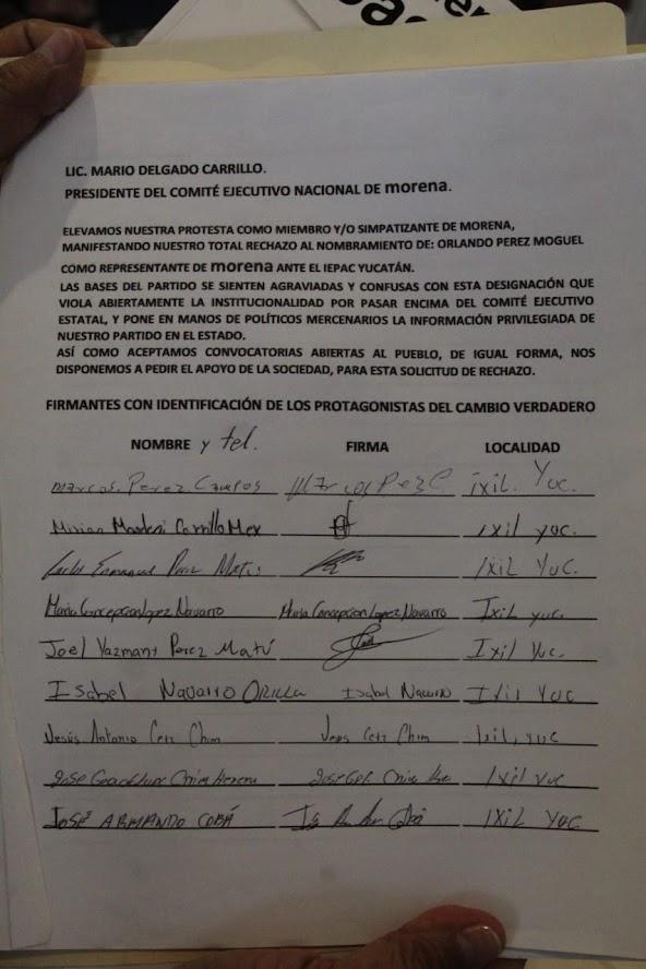 """Mario Mex borra en Facebook que está """"Morena Yucatán bajo ataque"""". Antonio Sánchez"""