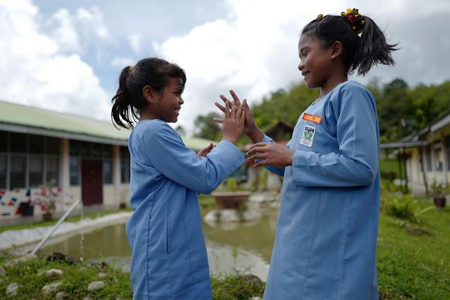 Program Cerahi Kehidupan Bersama TOP Untuk Menceriakan Kehidupan Kanak-Kanak Orang Asli