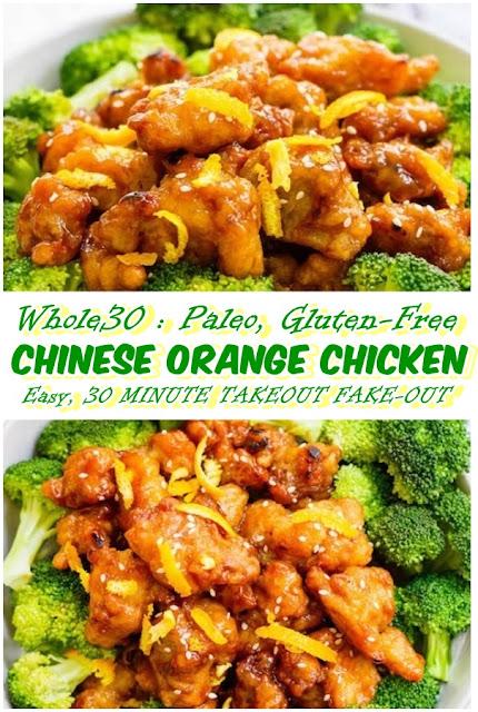 #Easy #Whole30 #Chinese #Orange #Chicken #Paleo #Gluten #Free