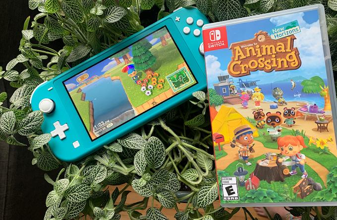 Sorteio de um Nintendo Switch Lite e Animal Crossing: New Horizons!