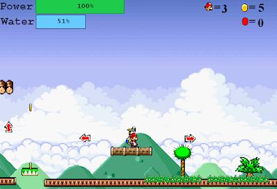 لعبة سوبر ماريو فلاش اونلاين Super Mario 64