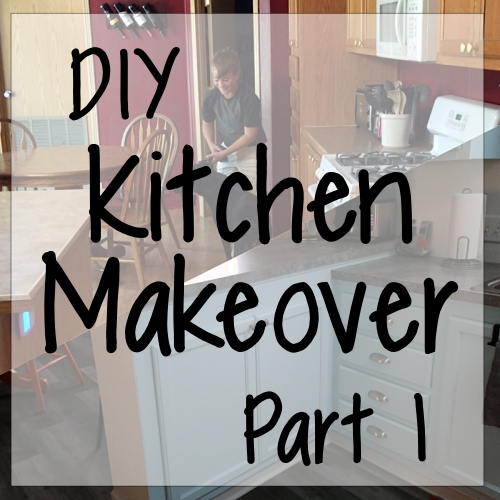 DIY Kitchen Makeover, Part 1