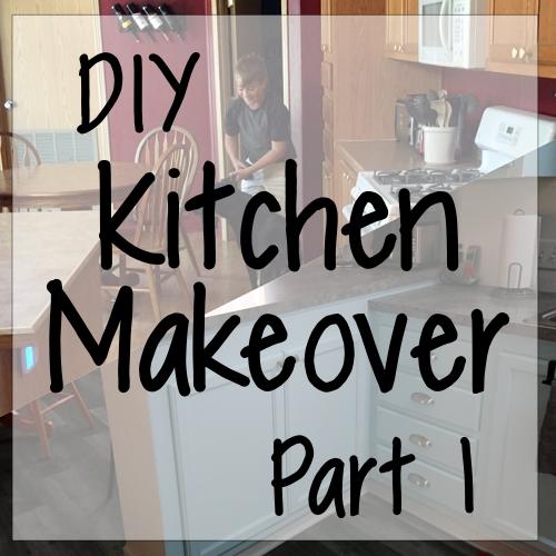 DIY Kitchen Makeover, Part 1