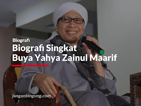 Biografi Singkat Buya Yahya Zainul Maarif - Responsive Blogger Template