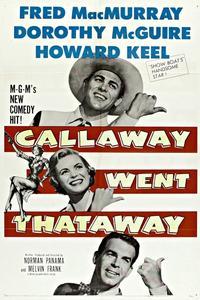 Watch Callaway Went Thataway Online Free in HD