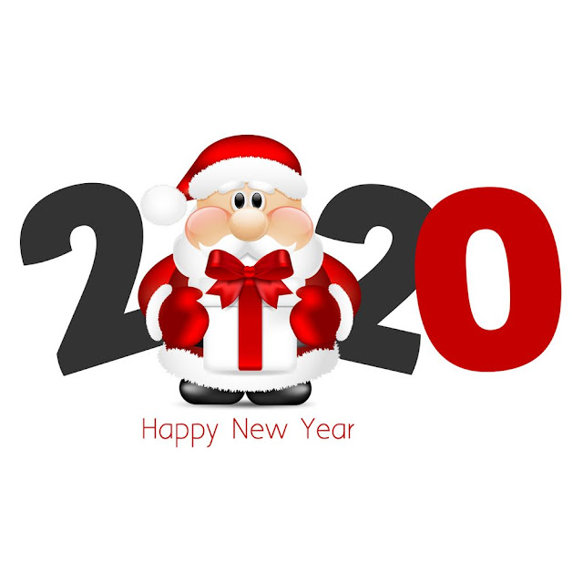 happy new year 2020 and merry christmas images