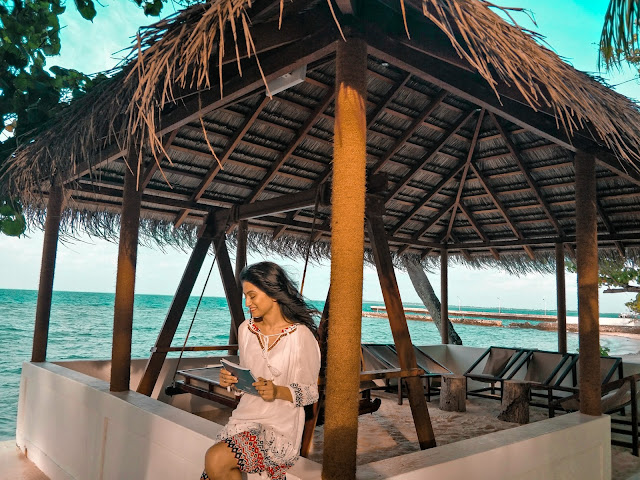 Karishma Rawat Indian Travel Blogger Maldives
