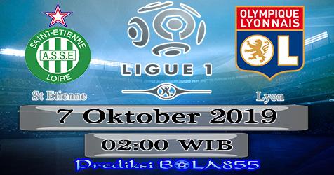 Prediksi Bola855 St Etienne vs Lyon 7 Oktober 2019