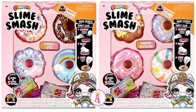 Радужные пончики со слаймом Poopsie Slime Smash Donut: новинка от создателей L.O.L. Surprise и кукол Пупси