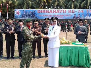 Peringati HUT TNI Ke 74 Gelar Jember Army Festifal